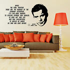STAR TREK JAMES T KIRK WILLIAM SHATNER QUOTE vinyl wall art sticker decal on eBay