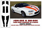 QH-293 & QH-444 1998-02 CHEVY CAMARO SS STRIPE KIT - COUPE - HAS ROOF STRIPES