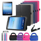 Folio Leather Folding Stand Case Cover Accessory For E-Fun Nextbook 8 NX785QC8G