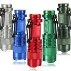 7W UltraFire CREE Q5 LED 600lm Mini ZOOMABLE Flashlight Torch 14500/AA 5 colors