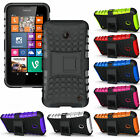 NEW GRENADE GRIP RUGGED TPU SKIN HARD CASE COVER STAND FOR NOKIA LUMIA 630 635