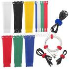 New Reusable Cable Ties Straps Wire Wrap Strapping Hook & Loop Cable Tidy
