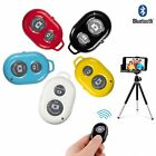 BLUETOOTH REMOTE CONTROL CAMERA SHUTTER FOR iPHONE SAMSUNG ANDROID PHONES SELFIE
