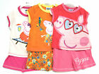 Girls Peppa Pig T-Shirt and Shorts Set 3 Colours Available PP34521