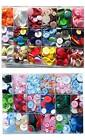 Buttons mixed lots of colours choices 100g larger size bags available
