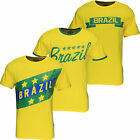 New Men's World Cup Football T-Shirt Brazil 2014 Summer Soccer Jersey Top Brasil