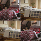 Catherine Lansfield Tartan Stripe Brushed Flannelette Fitted Sheet