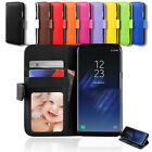 New Wallet Leather Stand Case Cover For Samsung Galaxy S5 S4 i9500 G900F G900I