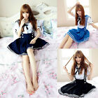 Girl Sexy Cosplay Sailor Navy Uniform Lolita French Maid Costume Princess Dress