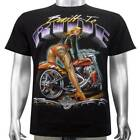 Sexy Tattoo Hot Pants Girl Hardtail American Chopper Biker Tee Men T-shirt M & L