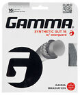 Gamma Synthetic Gut WearGuard 1.38mm 15L Tennis Strings Set