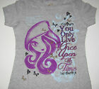 "Ever After High shirt girls sizes Small-X-large ""You only live once upon a time"""