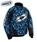 CASTLE X Men's Blue HOUND LAUNCH SE G1 Winter Snowmobile Jacket 70-466_