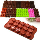 Mixed Pattern DIY Silicone Chocolate Cake Muffin Candy Ice Soap Maker Mold Mould