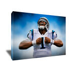 Carolina Panthers CAM NEWTON SUPERMAN poster painting artwork on CANVAS ART