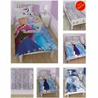 DISNEY FROZEN BEDDING, CURTAINS & ACCESSORIES ELSA ANNA OLAF BRAND NEW OFFICIAL
