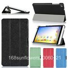 "Slim Tri-Folding Flip PU Leather Case Cover For Huawei MediaPad M1 8.0"" Tablet"