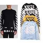 100% Cotton Lover Off White C/O Virgil Abloh PYREX 13 Long Sleeve T Shirt Tee