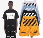 High Quality Mesh Off White C/O Virgil Abloh PYREX Gym Sport Shorts Pants Short