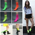 HOT Sell  Fashion Lady's Comfortable Fluorescent Candy Colour Socks 5 Colors