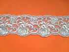 """Stunning Silver Grey Guipure Venise Lace Trim 2"""" Crafts Cards Costume Sewing"""