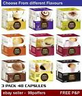 48 (3 Boxes X 16 capsules) Nescafe Dolce Gusto Coffee Pods -  Choose 15 Flavours