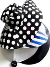 REVERSIBLE CRUSHABLE SUMMER SUN HAT WIDE BRIM - PICK FROM LIST