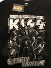 KISS - ROCK N ROLL ALL NIGHT PARTY EVERY DAY(Official T Shirt)
