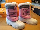 Brand New Boxed Choose Size Ladies Womens Campri Snow Boots Pink Winter Footwear