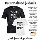 Custom Printing Personalised Printed T-Shirt T Shirts Work Stag Hen Party Club