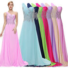 Elizabeth Prom Masquerade Evening Cocktail Celeb Gown Party Chiffon A-LINE Dress