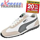 Puma Mens Whirlwind Classic Retro Trainers White * AUTHENTIC *