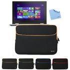 Notebook Sleeve Case Pouch Bag with Pocket For Dell Inspiron i3147-3750sLV