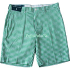 New Polo Ralph Lauren Gingham Check Suffield Shorts