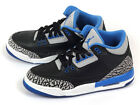 Nike Air Jordan 3 III Retro BG Black/Sport Blue-Wolf Grey 2014 398614-007 AJ3