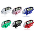Digital Pedometer Walking Step Distance Calorie Counter Run Fitness Belt Clip UK