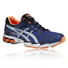 Asics GT-1000 v2 Mens Blue Orange Support Breathable Road Running Shoes Trainers