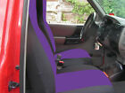 cc FORD RANGER CAR SEAT COVERS FRONT 60-40 seat with highback backrest choose