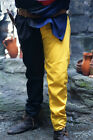 Medieval-LARP-Re enactment-Cosplay Yellow & Black DRAWSTRING TROUSERS all sizes