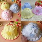 Baby Infant boy girl Bonnet  Bowknot Cotton Summer Cute kint Sun Hat Caps Bonnet