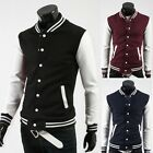 IN LONDON~Mens Casual Varsity Letterman College Jacket Baseball Coats Outerwear