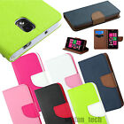 Wallet Style Case Hybrid Stand Cover w/ Credit Card Slot Magnetic Clasp
