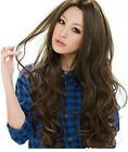 3 Colors New Style Womens Girls Sexy Long Fashion wavy curly Hair Wig Hotter