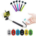 Selfie Monopod + Phone Holder + Bluetooth Shutter Remote Control for IOS Android