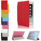 For iPad 2 3 4/mini/Air Premium lot Thin Magnetic Smart PU Leather Case Cover