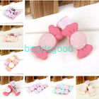2pcs Resin Matt Bows Candy Hair Clips Hairpins Girls Student Baby Kids Children