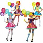 Clown Costume Adult Circus Funny Halloween Fancy Dress