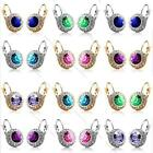 2 x Women Fashion Rhinestone Crystal Dangle Earrings Ear Hook Studs Jewellery