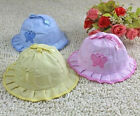 Fashion Infant boy girl  Bowknot  Summer Cute kint Sun Hat Caps Bonnet 3colors