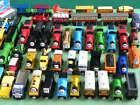 WOODEN - LOTS of individual  EARLY EDITION THOMAS WOODEN TRAINS  comp.ELC BRIO